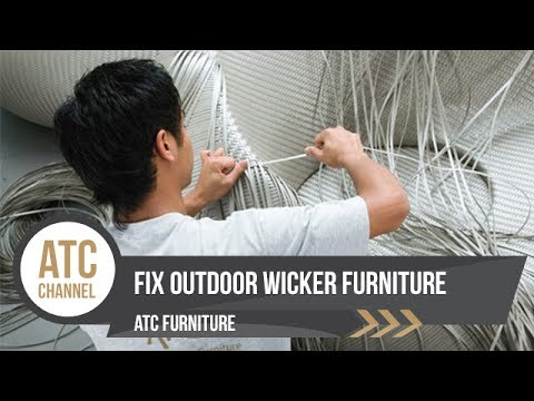 Fix Outdoor Resin Wicker Furniture - ATC Wicker Furniture Manufacturer | 2017