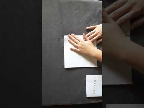 How To Roll Fold Paper & Brochures