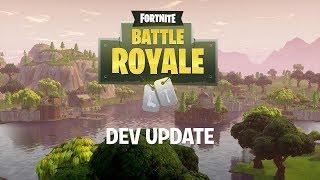 Battle Royale Dev Update #8 - Jetpack Info & Supply Llamas
