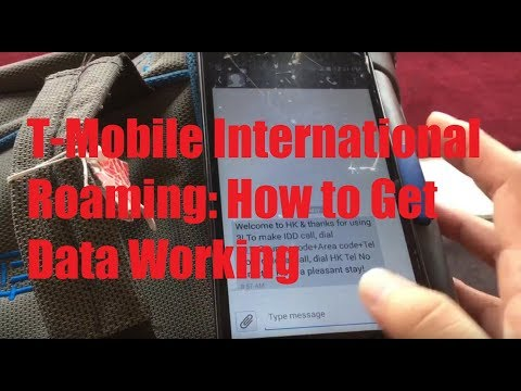 T-Mobile International Roaming: How to Get Data Working!