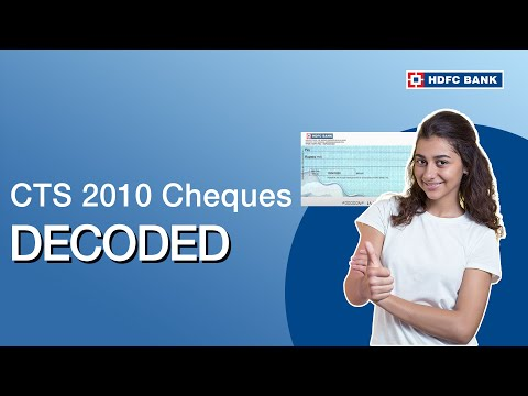 Everything you need to know about CTS 2010 cheques - Banking Basics