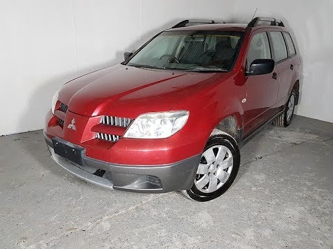 (SOLD) Automatic Cars 4×4 SUV Mitsubishi Outlander 2004 Review