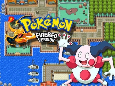 Pokemon FireRed - Vermilion City - Obtaining Flash & Mr Mime - (GBA)