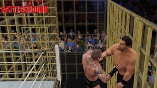 The Great Khali Returns! (WWE 2K17 Battleground 2017 Recreation (Punjabi Prison Match Mahal/Orton)
