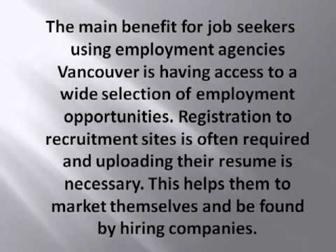 Recruitment agencies create staffing connections