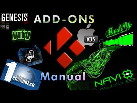 How to Manually Install Addons on (KODI-XBMC) iOS
