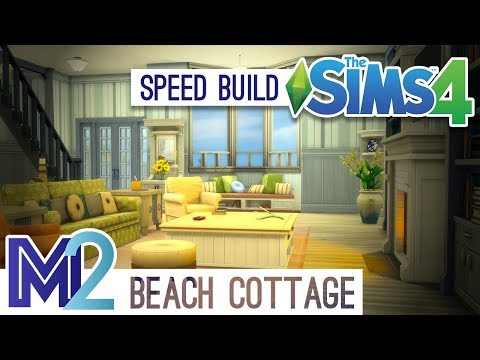 The Sims 4 Speed Build - Beach Cottage
