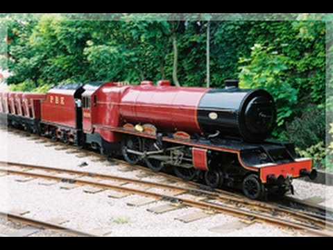 Blackpool Pleasure Beach Express Train ride POV 1080p