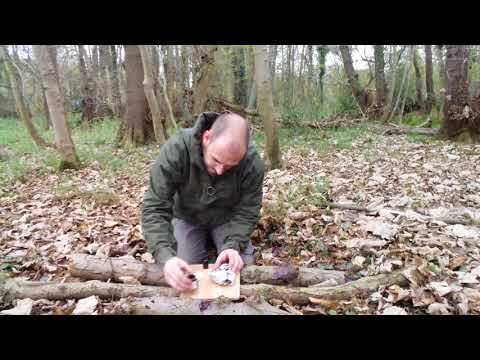 Survival Fire Lighting with Chemicals (Pot-p & antifreeze)