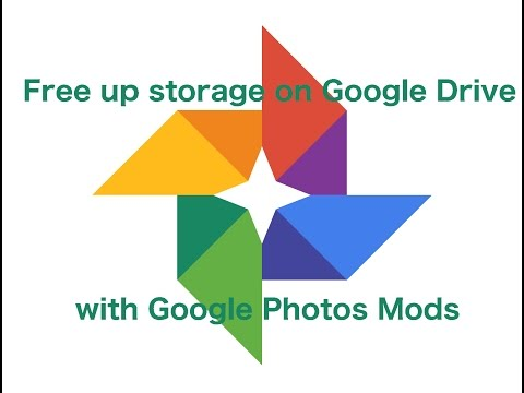 Free up Google Drive storage with Google Photos mods