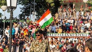 India Pakistan Wagah border Travel Independence day celebration | The PassionTve