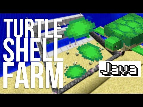 The Easiest Turtle Farm in Minecraft