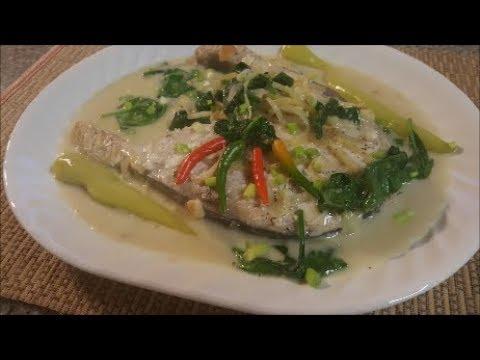 GINATAANG ISDA (TUNA FISH IN COCONUT CREAM)
