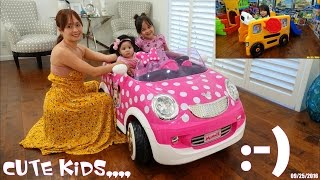 Thomas the Tank Engine, Disney Minnie Mouse Ride-On Car, Kiddie Slides and More!