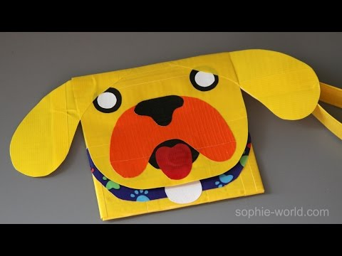 How to Make a Duct Tape Dog Clutch | Sophie's World