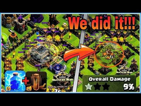 LIGHTNING SPELL and EARTHQUAKE SPELL can destroy your TOWNHALL😍| We did it!!💪 | clash of clans