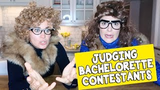 JUDGING THE BACHELORETTE CONTESTANTS // GRACE HELBIG