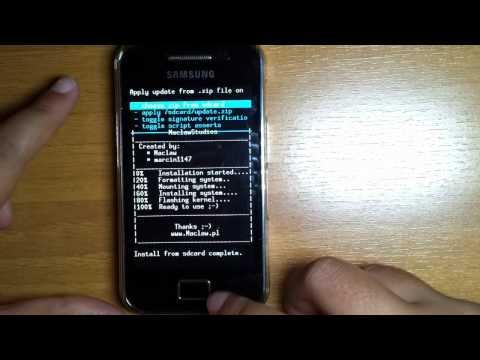 CM9 Android 4.0.4 ICS  Samsung Galaxy ACE  [INSTALLATION] HD