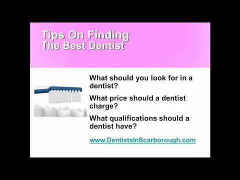 How To Find The Best Dentist In Scarborough