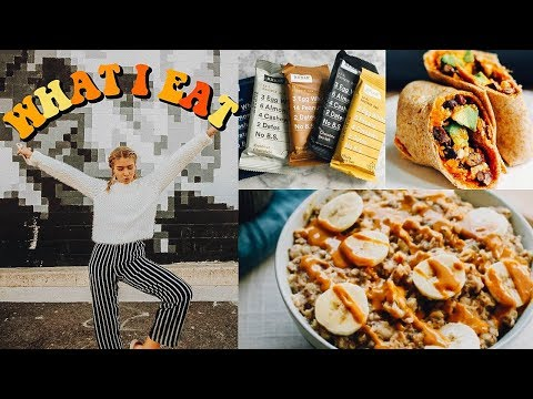 What I Eat In A Day (not vegan + healthy) | Marla Catherine