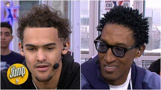 Scottie Pippen asks Trae Young how long he'll be able to handle losing | The Jump