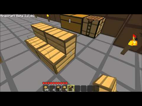 Minecraft - how to make a bench