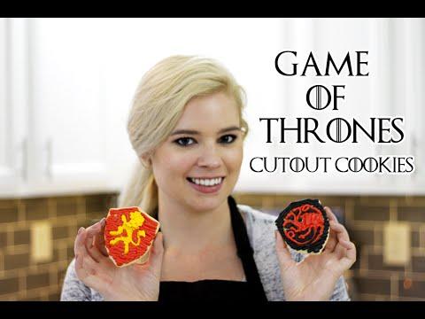 Game of Thrones Cutout Cookies | Allison Heinen