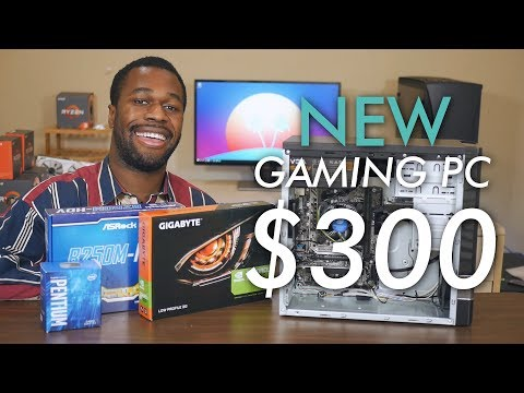 A Brand New $300 Entry-Level Gaming PC! (vs PUBG, Fortnite, & More)