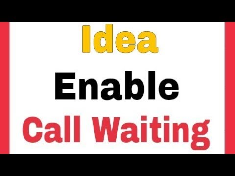 Idea sim    How To Enable Call Waiting Settings in Android