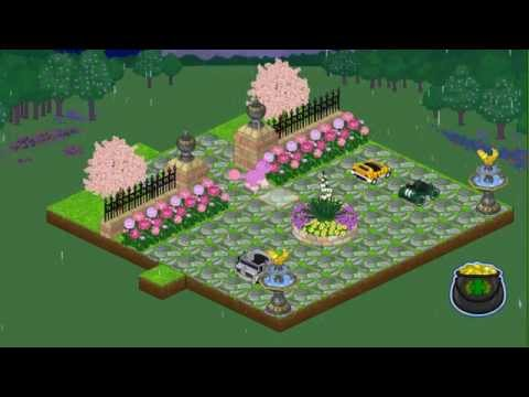 •Webkinz Front Yard Garden•