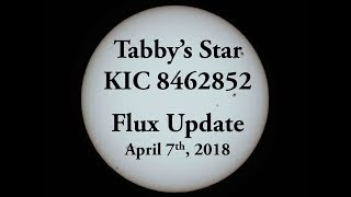 Tabby's Star KIC 8462852 Flux Update for April 7, 2018