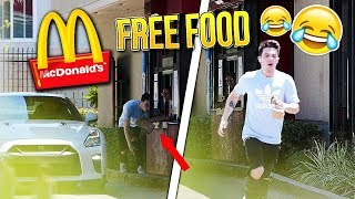 How to Get FREE FOOD at McDonalds!! *IT WORKED*