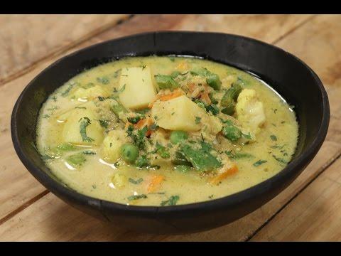Vegetable Korma | Simple Vegetarian Khana With Chef Saurabh | Sanjeev Kapoor Khazana
