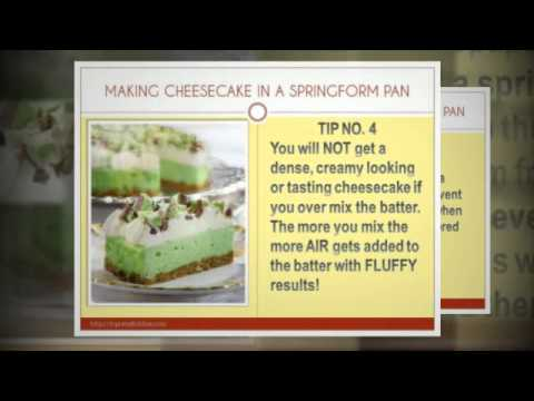 7 Tips for Making Cheesecake in a Springform Pan