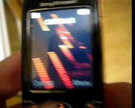 W610i flash menu & flash screensaver