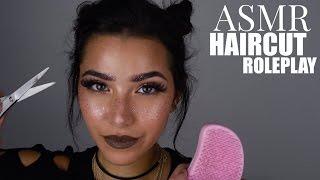 ASMR Haircut Role Play (Scalp Massage, Shaving, Hair Brushing, Hair Inspection, Shampoo...)