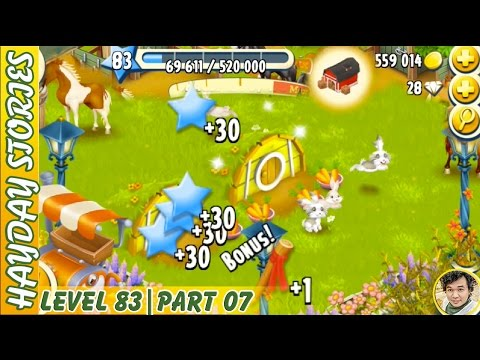 Getting Marker Stake From Feeding 4 Rabbits in Hay Day Level 83 | Part 07 - Freedom Farm