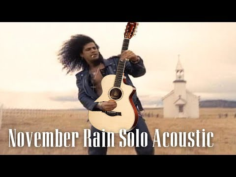 November Rain Acoustic Solo by GNR