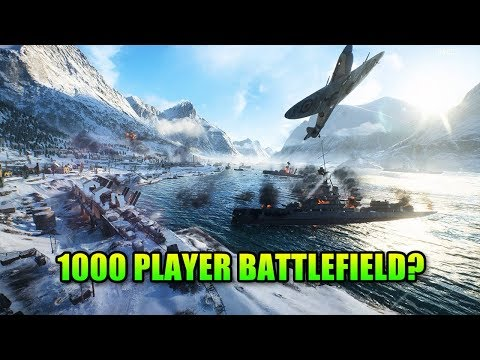 1000 Player Battlefield - Are Super Games The Future?