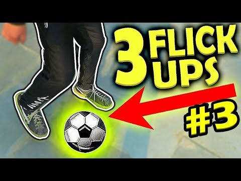 HOW TO LEARN JUGGLE/JUGGLING TRICKS IN FOOTBALL HINDI AND DO FLICK UPS #3