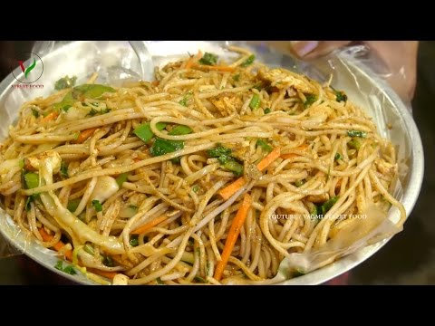 EGG HAKKA NOODLES | How to Make EGG NOODLES Chinese Style ~ VAGMI FOODS