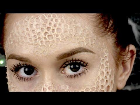 Trypophobia // SFX // How To Use Nose & Scar Wax