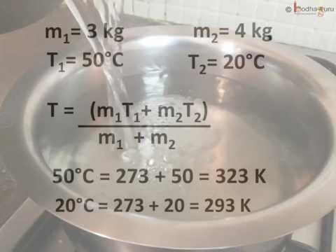 Physics - Final temperature of mixture - Thermal properties of matter - Part 6 - English