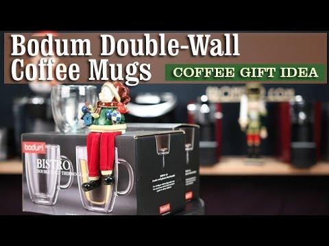 Bodum Double Wall Coffee Mugs | Coffee Gifts Idea