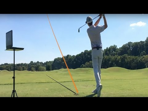 How far should you hit your irons?