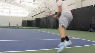 Mitchell Steadman Tennis Recruiting Video Backhands