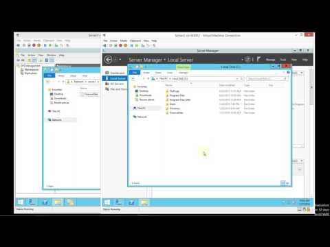 Setting up DFS in Windows Server 2012 R2 with Replication