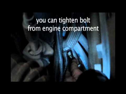 BMW Crank Sensor replacement