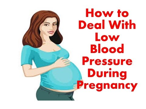Pregnancy Low Blood Pressure, How to Cure