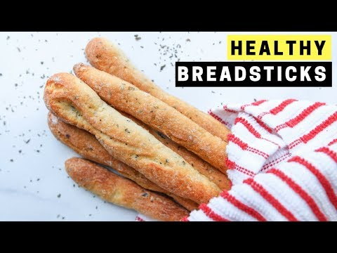 Healthy Breadstick Recipe - Quick Easy Snack Ideas